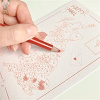 Small Business Order Postcode Colour Map
