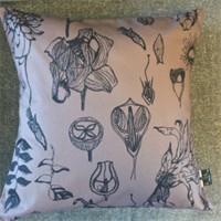 South American Flora Cushion Front