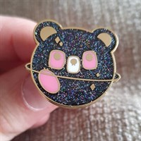 Space Bear Enamel Pin