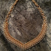 """""""Avalon"""" Necklace Chainmail Armour"""