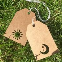 Sun and Moon Mini Gift Tags