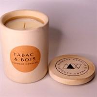 Tabac & Bois lid off label up