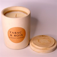 Tabac & Bois lid off label down