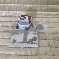 Squirrel and Fox Tea Bag Wallet