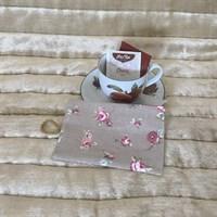 Roses Tea Bag Wallet