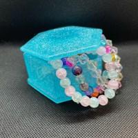 Sparkly BlueTrinket Box