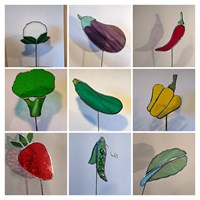 Vegetable markers
