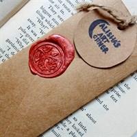 Personalised Vintage Envelope Bookmark