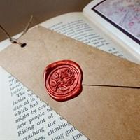 Brown Card Bookmark