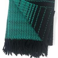Winter Warmer wool throw blanket