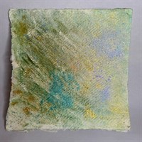 Wonder - abstract chemical painting