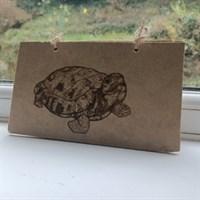 Wooden Tortoise Notebook