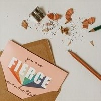 You Are Fierce Women Pride Card