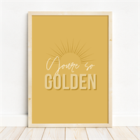 You're So Golden Sun Rays Print